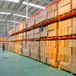 Chongqing Minsheng Logistics Auto Parts Warehouse — Stock Photo