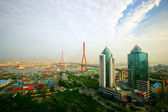 Shanghai Yangpu Bridge — Stock Photo
