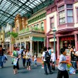 Stock Photo: Tokyo Disneyland dynasty erVictorian-style street in world market