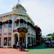 Stock Photo: Tokyo Disneyland dynasty erVictorian-style street corner in world market
