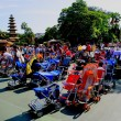 Tokyo Disneyland theme park in west along western front of station parked stroller — Stock Photo #29596141