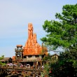 Stock Photo: Tokyo Disneyland Thunder Mountain in western park