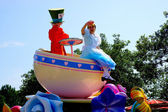 Tokyo Disneyland Dream joyous parade of all kinds of fairy tales and cartoon characters — Stok fotoğraf