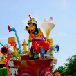 Tokyo Disneyland Dream joyous parade of all kinds of fairy tales and cartoon characters — Stock Photo