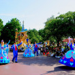 Stock Photo: Tokyo Disneyland Dream joyous parade of all kinds of fairy tales and cartoon characters
