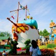 Stock Photo: Tokyo Disneyland in Toontown Donald Duck steamboat