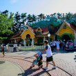 Stock Photo: Tokyo Disneyland Mickey mansion in Toontown