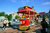 Tokyo Disneyland in Toontown rock tram — Stock Photo