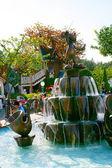 Tokyo Disneyland Mickey Mouse fountain in Toontown — Stock Photo