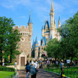 Tokyo Disneyland Cinderella City of Main building — Stock Photo