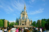 "Tokyo Disneyland ""Cinderella City of"" Main building — Photo"