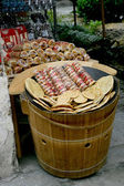 Bocadillo de anhui hongcun callejón — Foto de Stock