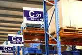 Чунцин Minsheng логистика автозапчастей склад — Стоковое фото