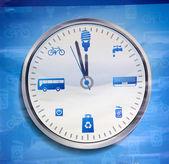 Energy Clock — Fotografia Stock