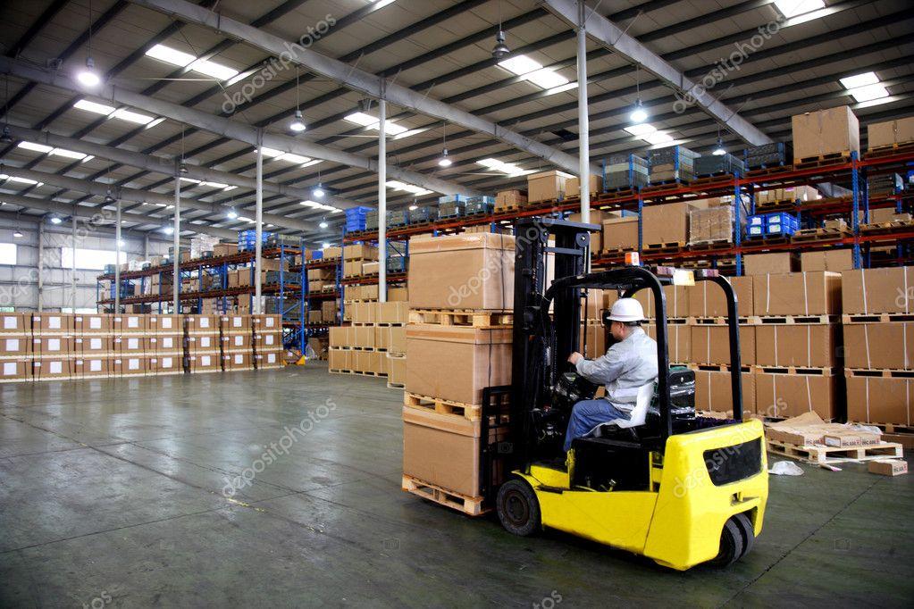 Chongqing Minsheng Logistics Auto Parts Warehouse Stock