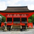 World Heritage --- Tamura, Japan Kiyomizu Temple Church — Stock Photo