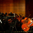 Chongqing Grand Theatre Shanghai Philharmonic Orchestra of instruments — Stock Photo