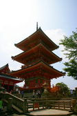World Heritage --- Japan Kiyomizu triple tower — Stock Photo