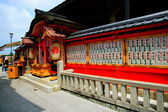 "World Heritage --- Japan Kiyomizu Temple ""landlord shrine"", it is a place to ask marriage. — Stock Photo"