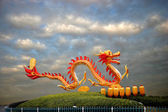 Chinese traditional painting of the Dragon — Stock Photo