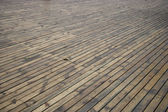 City streets wood flooring — Stock Photo
