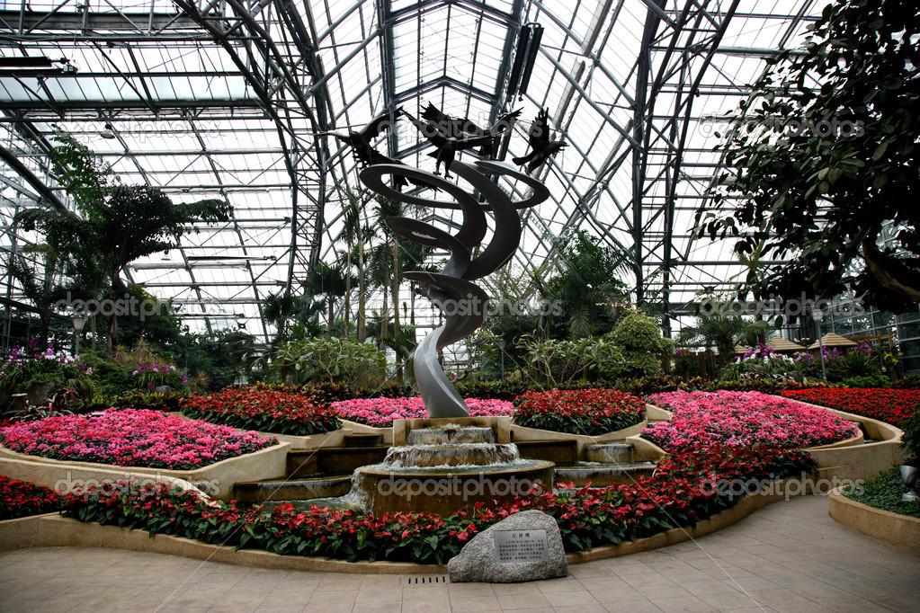Plantes et chongqing nanshan jardin botanique serre fleurs for Plantes et jardins serres