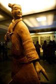 Xian Qin Terracotta Warriors and Horses of Qin Terracotta Warriors and Horses Museum show — Stock Photo