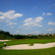 Chongqing Poly Golf Course international standard 18-hole golf course — Stock Photo