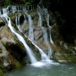 Guang'an providence valley gorge old Longtan waterfall White Dragon — Stock Photo