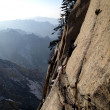 "Shaanxi Huashan Nantianmen poly Sendai ""sky cliff"" — Stock Photo"