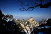 Shaanxi Huashan mountain road — Stock Photo