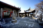 Shaanxi Huashan alchemy furnace — Stock Photo