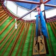 "Inner Mongolia Hulunbeier gold ""China's first Qushui"" mergel riverside grassland account Khan Mongol tribes dances yurts — Photo"