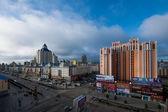 Manzhouli in Inner Mongolia Hulunbeier streetscape — Stock Photo