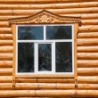 inner mongolia hulunbeier amount ergunaen and the town chic farmhouse chalet doors and windows — Stock Photo