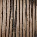 Inner Mongolia Hulunbeier Ergun Riverside small farm house chic wooden wall — Stock Photo #32075263