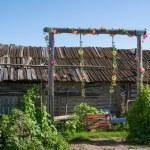 """Inner Mongolia Hulunbeier Ergun Riverside small farm house of the """"swing"""" — Stock Photo #32076117"""