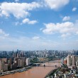 Yuzhong District, Jiangbei District, Yuzhong Peninsula and buildings — Lizenzfreies Foto