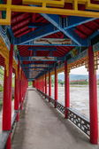 Inner Mongolia Hulunbeier Tai Hing Lam district Root River City Mangui foot of scenic promenade town condensate Greenfield — Stock Photo