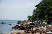 Shenzhen, Guangdong Province Dameisha Waterfront Park Valentine's gold coast trail — Stock Photo