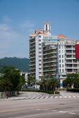 Guangdong Province, Shenzhen Meisha street building — Stock Photo