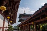 Cidade de shenzhen, província de guangdong, templo de huaxing dameisha leste — Foto Stock