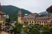Shenzhen City, Guangdong Province, East Dameisha Tea Stream Valley town of Interlaken — Stock Photo