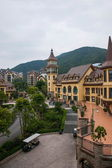 Shenzhen City, Guangdong Province, East Dameisha Tea Stream Valley town of Interlaken — Stock Photo