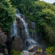 Shenzhen City, Guangdong Province, East Dameisha Tea Stream Valley Ancient Tea Town of Mountain and Flowing Water — Stock Photo #33941487