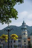 Shenzhen City, Guangdong Province, East Dameisha Tea Stream Valley Interlaken Hotel Group F — Stock Photo
