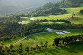 Shenzhen city, provincie guangdong, východní dameisha vítr údolí golfové hřiště — Stock fotografie