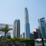 Kowloon, Hong Kong Victoria Harbor Building — Stock Photo #34121623