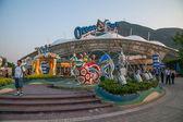Hong Kong Ocean Park Ocean Plaza — Zdjęcie stockowe