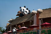 Ocean Park Hong Kong Panda — Stock Photo